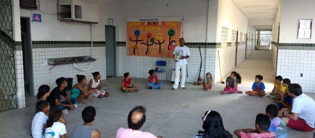 Oficina de Capoeira em Paratibe