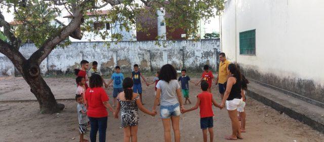 Dança e futebol marcaram o dia de ontem