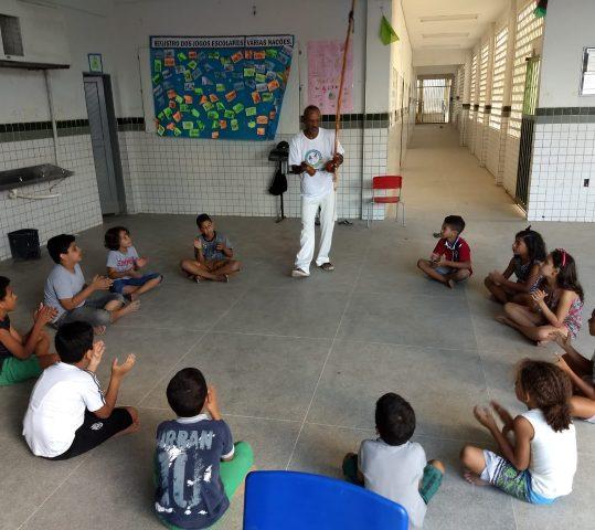 Dança e Capoeira marcam domingo das Luzes do Amanhã